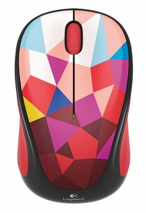 Мишка Logitech M238 Play Collection - Red Facets/