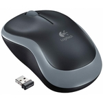 Мишка Logitech Wireless Mouse M185 Swift Grey and Red