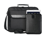 "TRUST 16"" Laptop bag incl. carbon-look sleeve for 10"" tablets"