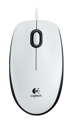 Logitech Mouse M100 White, EER Orient Packaging