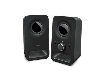 Logitech 2.0 Speakers Z150 - Midnight black